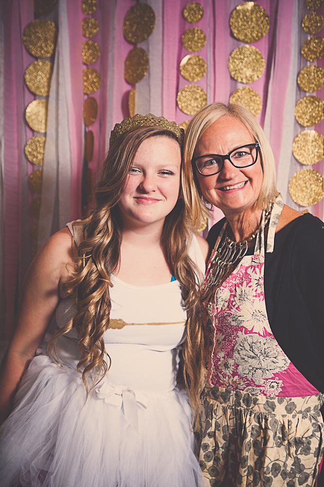 Gold Party Photo booth Tween Birthday Party