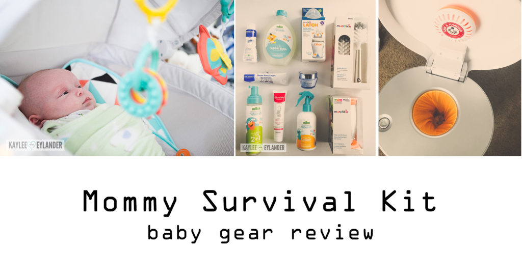 Newborn Mommy Survival Kit Babygear Review Kaylee